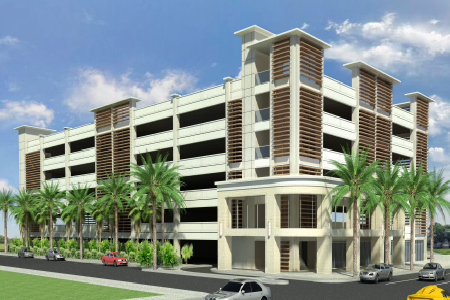 daytona parking garage plans 450x300